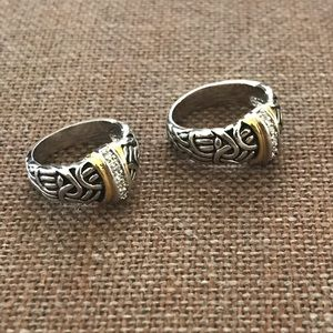 Beautiful Gold/ Silver Rings